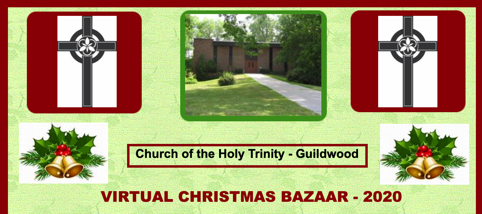Virtual Christmas Bazaar banner